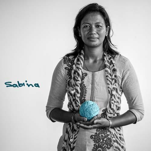 Knitter Sabina