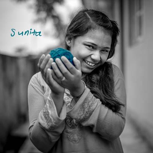 Knitter Sunita
