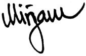 Mirjam Signature