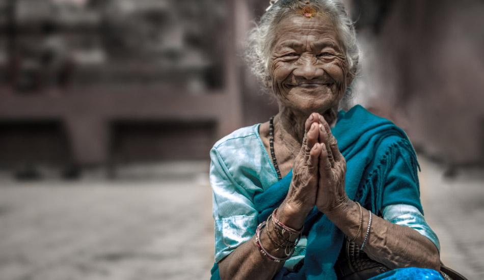 Nepal-lady scarf