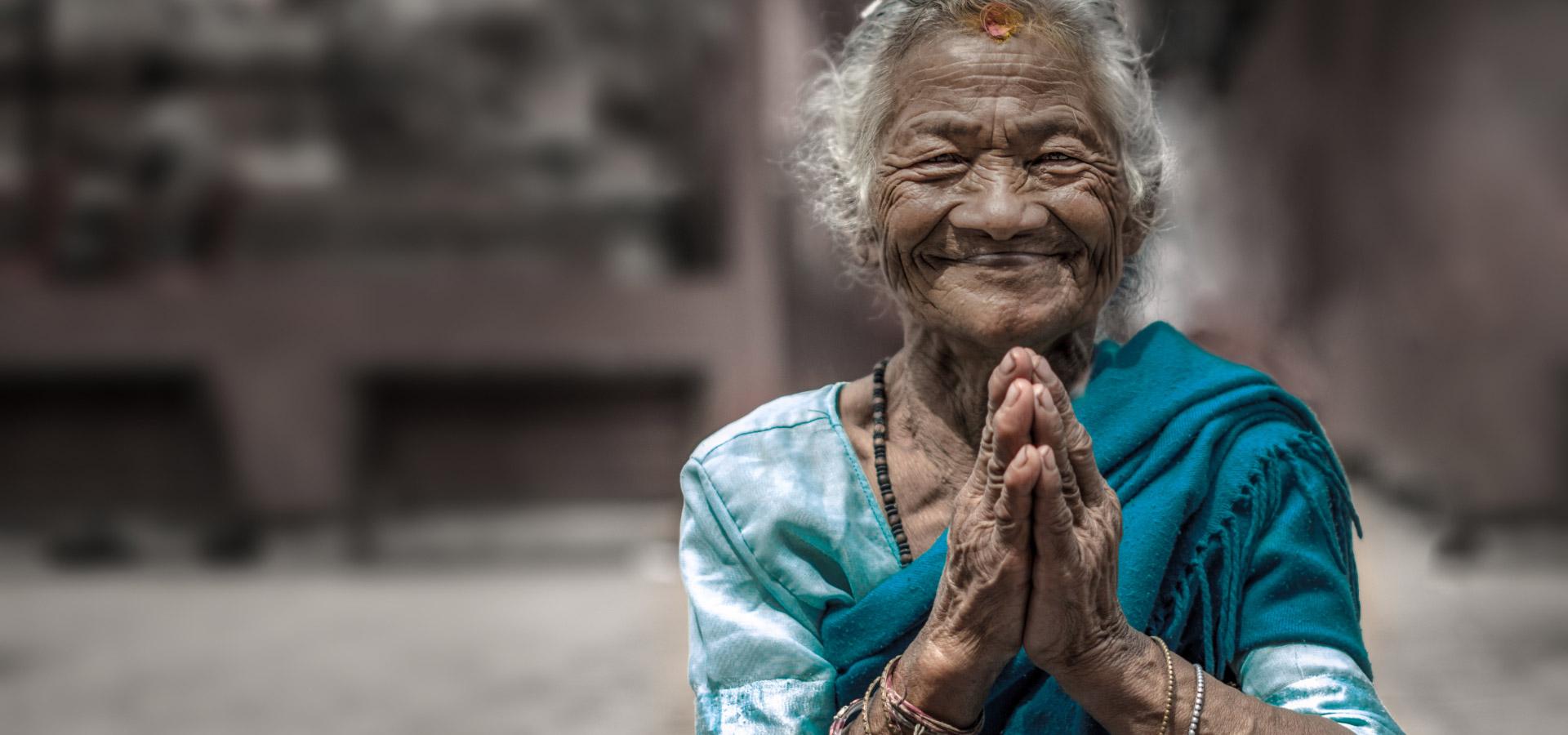 Local nepal lady